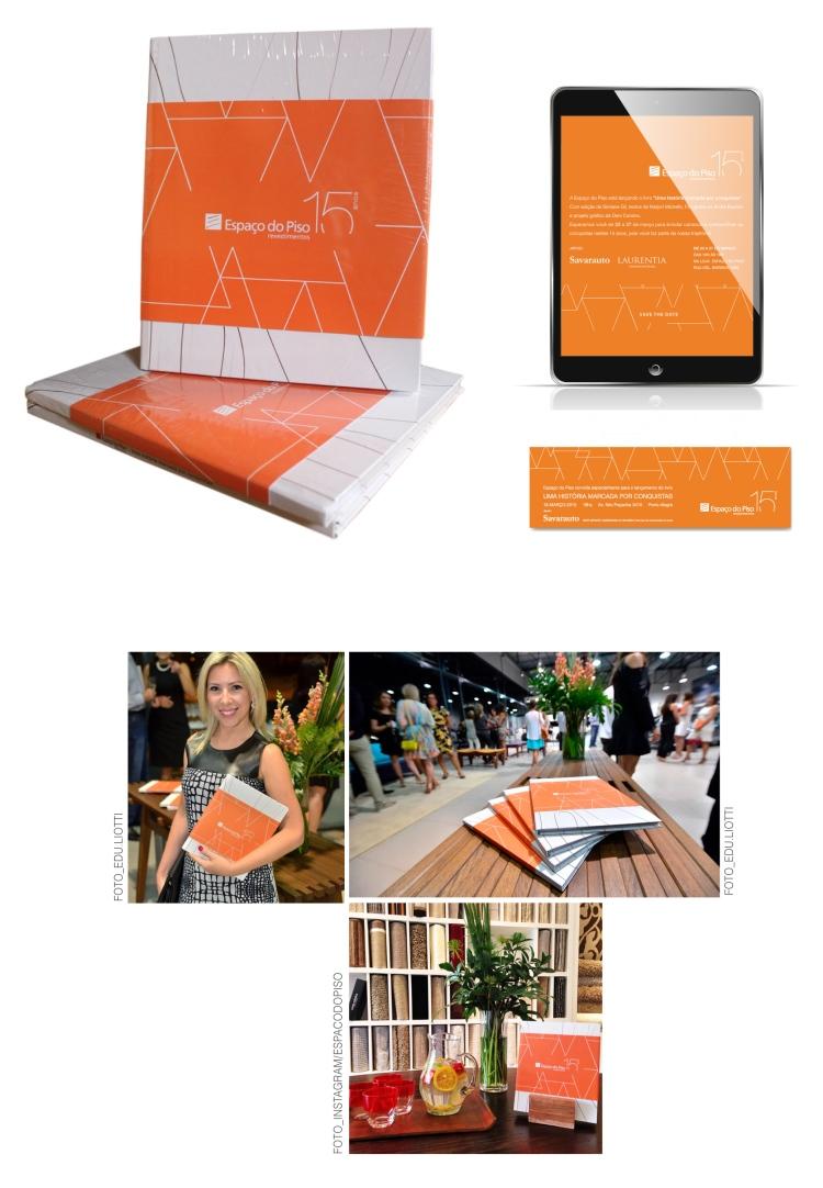 Projeto gráfico Espaco do Piso 2015