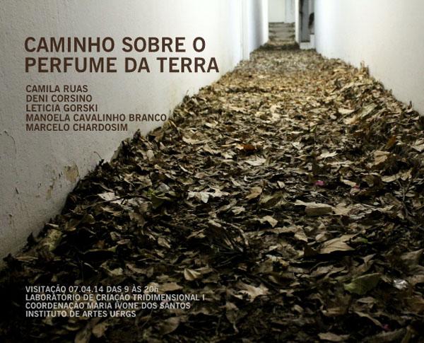 Convite_Instalação_Caminho sobre o perfume da terra
